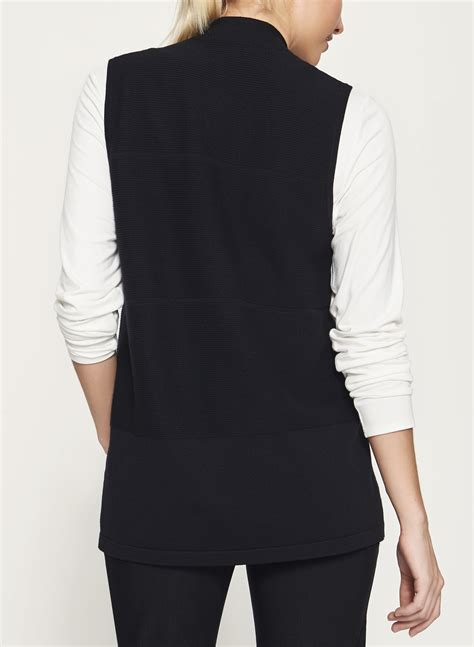 sleeveless knitted jersey pattern sleeveless jersey knit cardigan laura