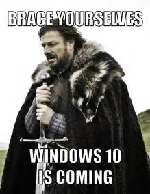 Windows 10 game of thrones meme