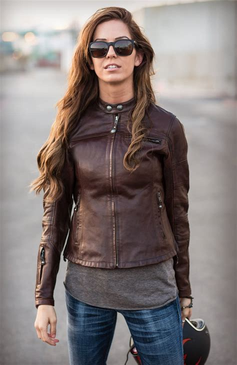 ladies motorcycle jacket the maven a classic women s motorcycle jacket