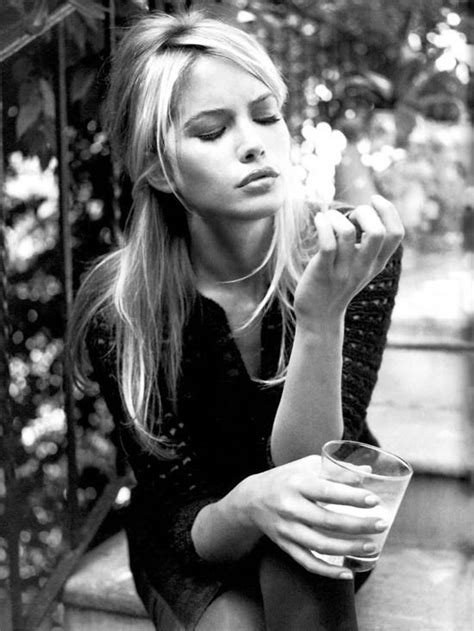Fredrik Ljungberg Does Vogue Italia by A Modified Strangely Parted Bardot Valeria Mazza In