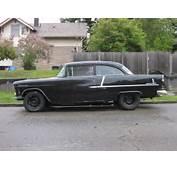 OLD PARKED CARS 1955 Chevrolet Bel Air Hardtop