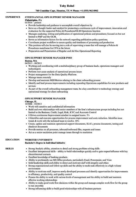 Sle Resume For Senior Management Position by Resume Format For Senior Management Position 28 Images