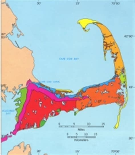 glacial cape cod, geologic history of cape cod by robert n
