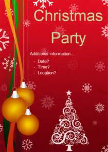 christmas party editable poster free early years