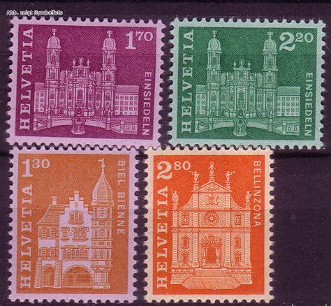 Schweiz Briefmarken Kaufen Briefmarken Schweiz Michel Nr 764 767 Baudenkm 196 Ler 1963 Postfrisch G 252 Nstig Kaufen Im