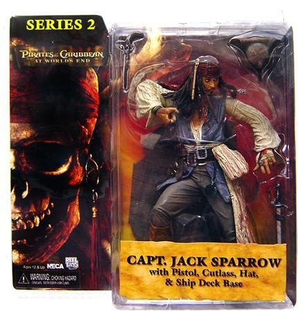 Disney Of The Caribbean Captain Sparrow Figure By neca of the caribbean at worlds end series 2