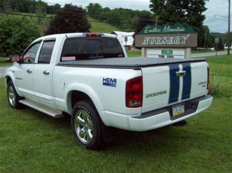 find used 2004 dodge ram 1500 4x4 5 7liter hemi 8 cylinder engine w air conditioning in sussex buy used 2004 dodge ram 1500 quad cab slt 4x4 5 7 hemi automatic in rome pennsylvania united