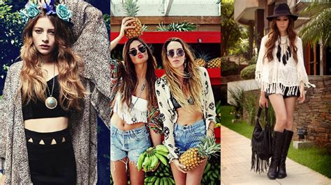 Beautifully Boho Style Blogs by A Beautiful Fashion Treat In Boho Chic Strutting In