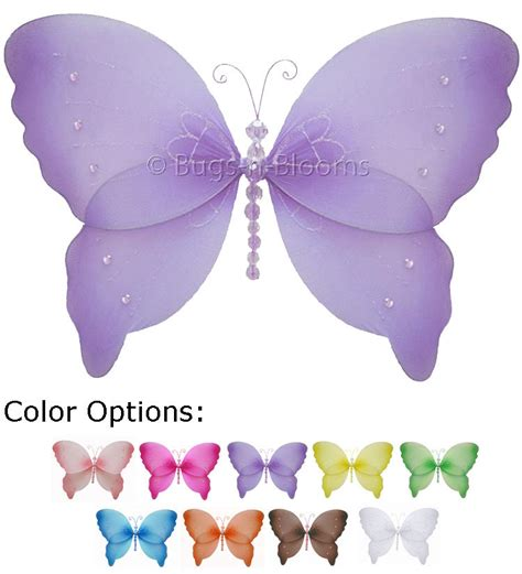 Butterfly Decorations For Nursery Butterfly Decorations Ceiling Wall Hanging Room Baby Nursery Butterflies Ebay