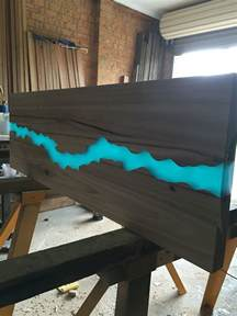 resin river table top pinteres