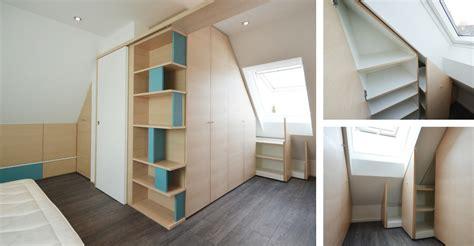 armadio mansarda ikea da letto in mansarda okap 236 mobili su misura
