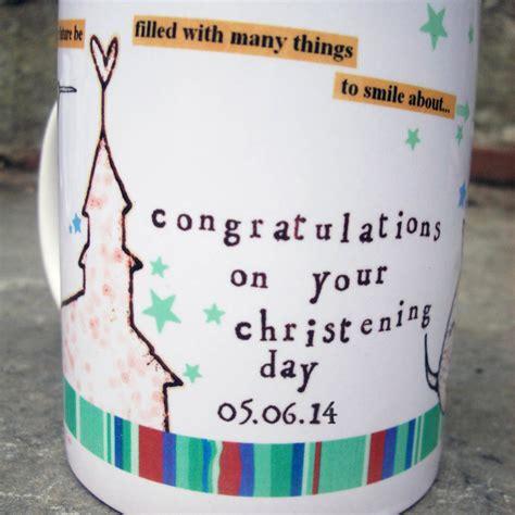 mug design for baptism personalised christening mug by alice palace