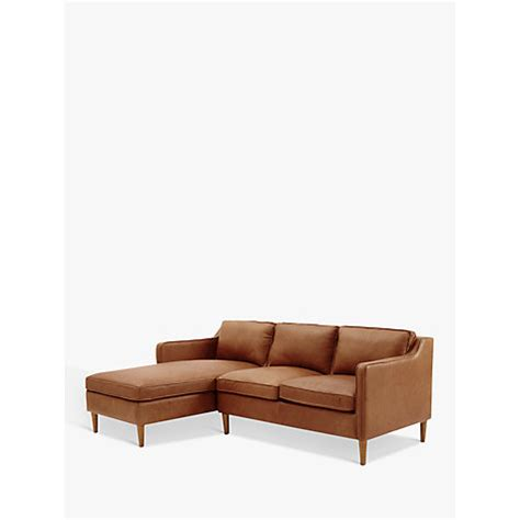 elm hamilton leather sofa buy elm hamilton leather sectional right loveseat lhf