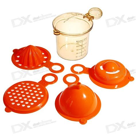 7 In 1 Kitchen Mate 5 in 1 kitchen mate funnel squeeze measurement cup free shipping dealextreme