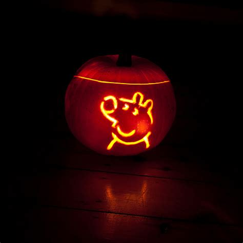 pig pumpkin template peppa pig pumpkin flickr photo