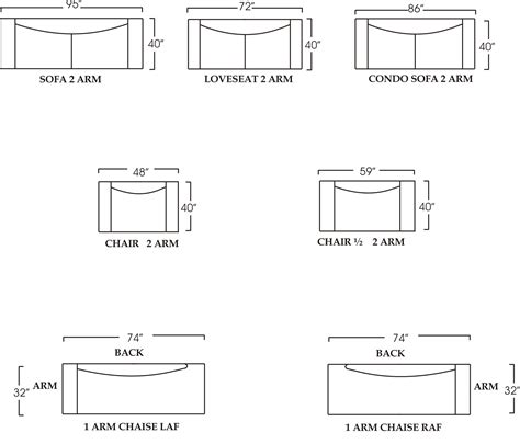 standard sofa sizes typical sofa dimensions best of standard sofa length