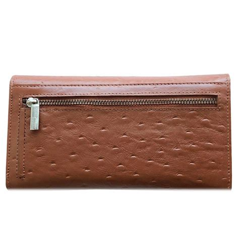 Trifold Wallet Vegtan Leather by Genuine Leather S Trifold Clutch Rfid Blocking