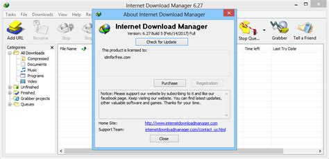 internet download manager auto registration full version free download free idm registration internet download manager 6 27