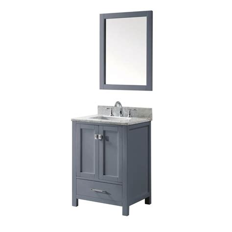 Virtue Vanity by Virtu Usa Caroline Avenue 24 In W X 36 In H Vanity With
