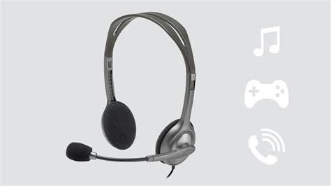 Headset Stereo Logitech H111 logitech stereo headset h111