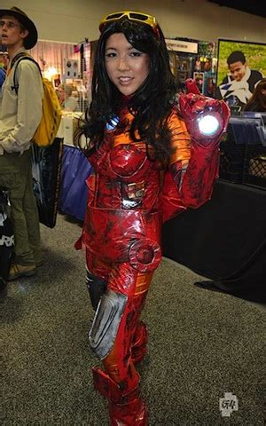 female iron man cosplay comic twist gossip