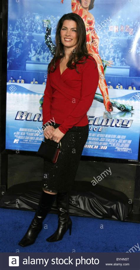 Blades Of Premiere by Nancy Kerrigan Blades Of Premiere Held At Grauman