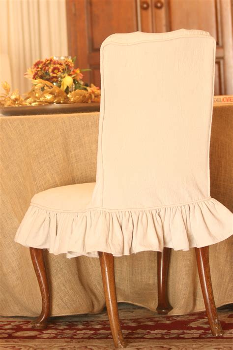 dining chair slipcovers white white linen parson chair slipcovers chairs seating