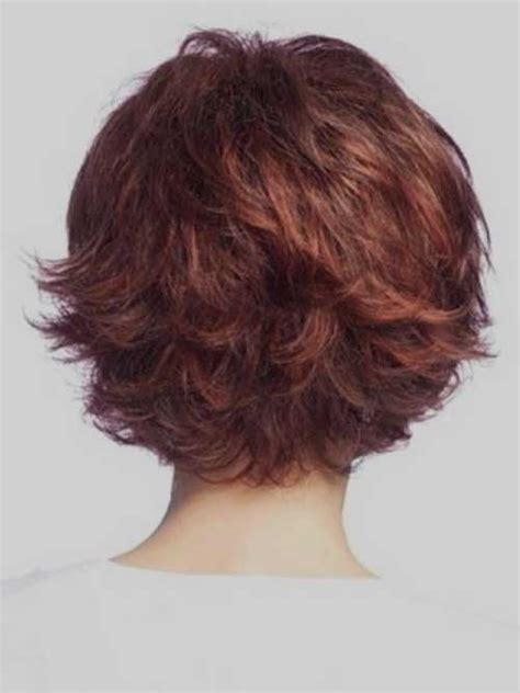 back view wavy short bob for thick hair 2015 40 short haircut ideas short hairstyles 2016 2017
