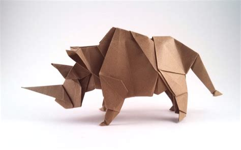 How To Make Origami Rhino - origami rhinoceros facile
