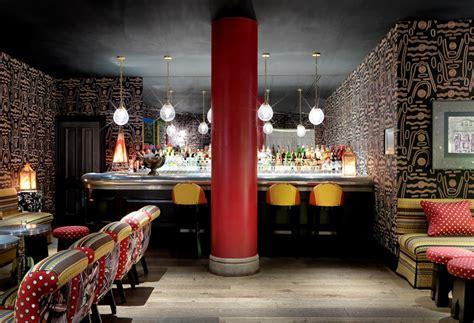 firmdale hotels  soho hotel  crimson bar
