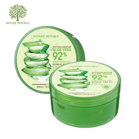 Aloevera Soothing Gel aloe vera 92 soothing gel by nature republic msjoyceeblog