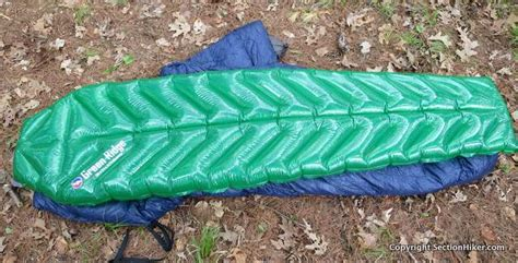 Big Agnes Green Ridge Sleeping Pad Review Section Hikers