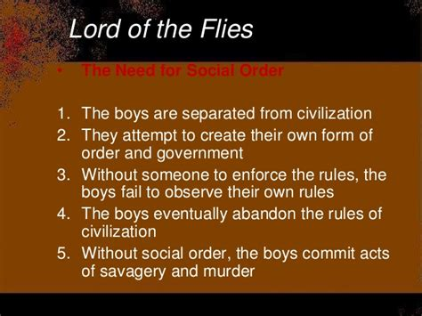 lord of the flies theme civilization vs savagery quotes lotf test review