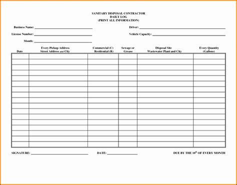 9 Editable Daily Work Log Template Sletemplatess Sletemplatess Daily Work Log Template Microsoft Excel