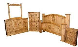 fleur de lis bedroom set real wood furniture 5 set