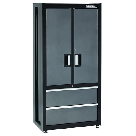 craftsman garage storage cabinets craftsman premium heavy duty floor cabinet trio shop
