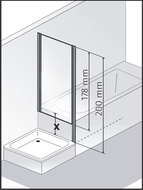 Duschwand Fr Badewanne Mit Seitenwand ~ Das Beste aus