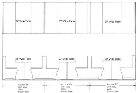 restaurant booth design guidelines 17 best images about dimensions on pinterest restaurant