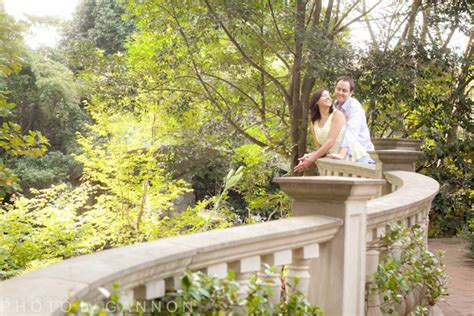 The Botanical Gardens Atlanta Atlanta Botanical Garden Engagement Photography Atlanta Wedding Photographer Photo By Gannon