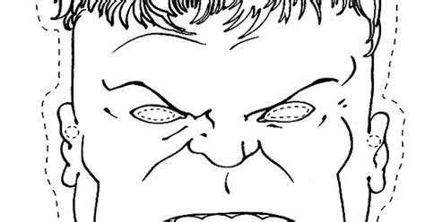 hulk mask coloring pages coloring pages for kids the hulk mask birthday party
