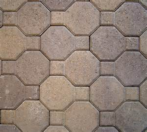 Octagon Patio Pavers Willamette Blend