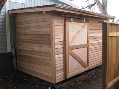 sliding shed door shed construction outdoor sheds
