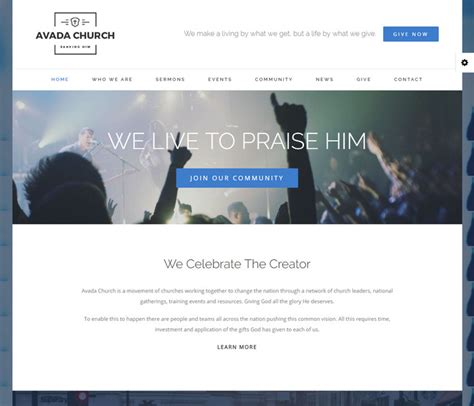 avada theme calendar avada wordpress theme 5 0 review with 22 demo homepage layouts