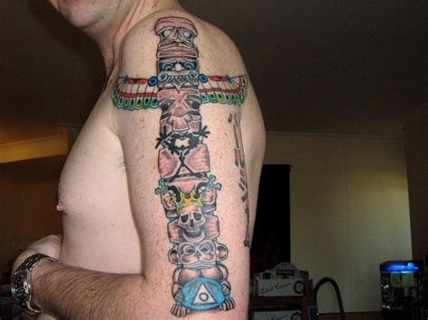 totem pole tattoo totem pole tattoos designs ideas and meaning tattoos