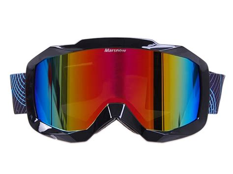 dual lens anti fog optics series scope snow ski goggles