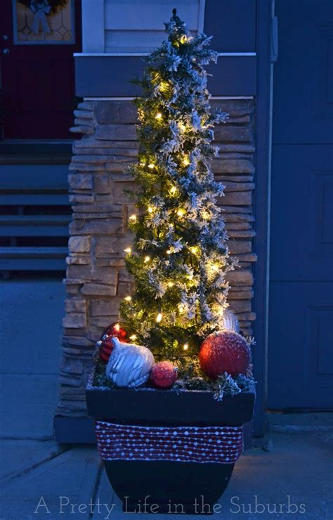 ls outdoor christmas decorations trees 25 best ideas about outdoor trees on outdoor decor porches