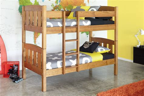 Waka Single Bunk Bed Frame By Ezirest Furniture Harvey Bunk Beds Harvey Norman