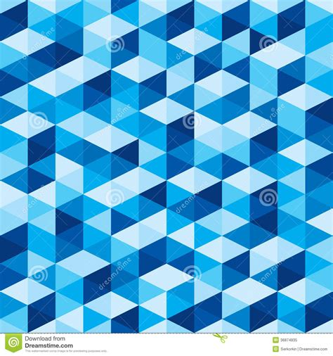 pattern color blue abstract geometric background seamless blue pattern