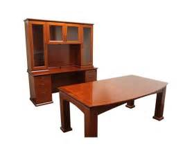 Executive Desk And Hutch New Emerald Executive Office Desk Table With Credenza And