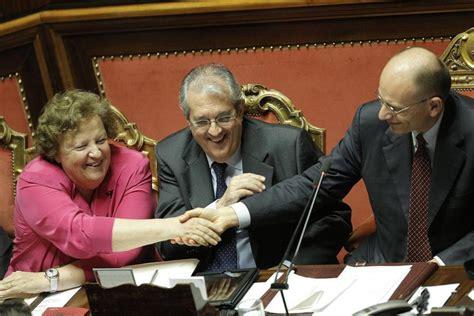 ministro giustizia governo letta governo letta il voto di fiducia al senato